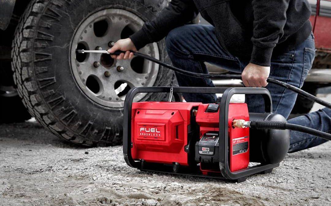 5 Best Air Compressors, Lightweight, Compact & Portable